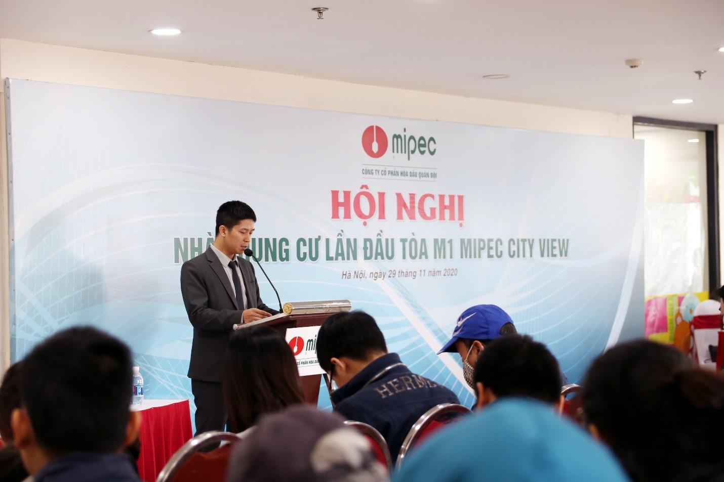 THÀNH LẬP BAN QUẢN TRỊ M1 CHUNG CƯ MIPEC CITY VIEW NHIỆM KỲ 2021-2023